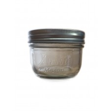 Aussie Mason Wide Mouth Half Pint jars & Lids x 6