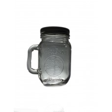 Aussie mason HEAT PROOF  Beer Mugs x 6 With lids - Great for coffee and other beverages - Shipping Included