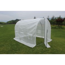 Large Walk in Green House 2m x 3m Tunnel with Hinged Door - IN STOCK, email us for shipping quotes
