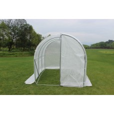 Jumbo Walk in Green House 2m x 3m Tunnel with Hinged Door - IN STOCK, email us for shipping quotes