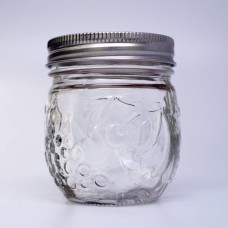 SOLD OUT - Ball Elite Regular mouth Mouth Half Pint 8oz Jam Jars x  4