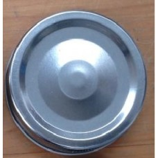 1 piece Regular Mouth Metal Lid Silver x 12 - SOLD OUT
