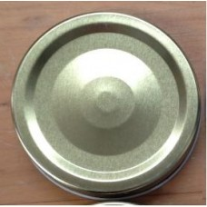 1 piece Regular Mouth Metal Lid Gold  x 12 - SOLD OUT MORE SOON