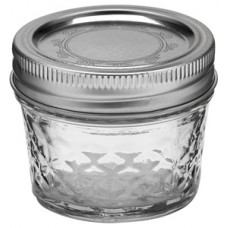 Ball Quilted 4oz Jars & Lids x 6