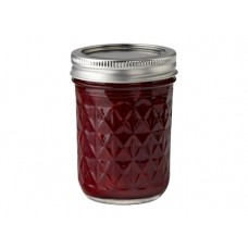 Ball Quilted 8oz Jars & Lids x 6