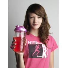 Drinking Cap Fits Wide Mouth Mason Jars x 1 Pink BPA FREE