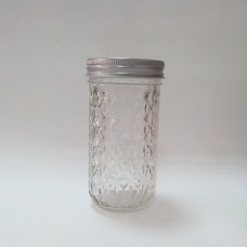 Aussie Mason Quilted 340ml Jars & Lids x 6  -IN STOCK!!