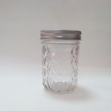 Aussie Mason Quilted 240ml Jars & Lids x 6