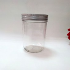 Aussie Mason PLAIN 86mm (WIDE) Mouth 500ml Jars & Lids x 12 - Shipping Included