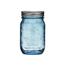SOLD OUT - Ball Heritage Collection Blue Pint jars & Lids x 6