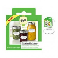 Ball Dissolvable Labels pack of 60