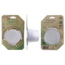 BNTO Canning Jar Lunchbox Adaptor - Wide Mouth - 6oz - Clear