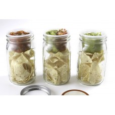 BNTO Canning Jar Lunchbox Adaptor - Wide Mouth - 6oz - Clear - SOLD OUT MORE SOON