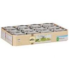 Kerr Wide Mouth Half Pint jars & Lids x 6