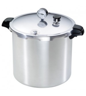 Presto 23Q Pressure Cooker With 12 x RM Jars,4pce Tool Set,  3pce Reg   - SOLD OUT MORE END JULY