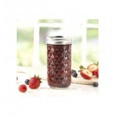 Ball Quilted 12oz Jars & Lids x 12